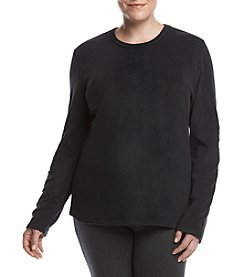 Cuddl Duds Plus Size Warmwear Fleece Top