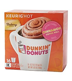 Keurig® Dunkin' 16-ct. Cinnamon Coffee K-Cup Pods