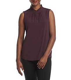 Calvin Klein Petites' High Neck Top