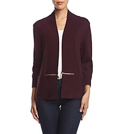Ivanka Trump Zipper Cardigan