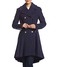 GUESS Double Fit & Flare Coat