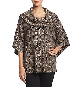 Fever Cowl Neck Poncho