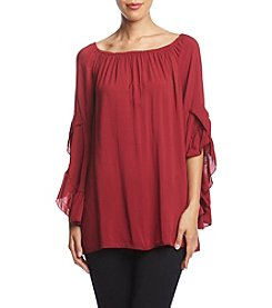 Fever Ruffle Sleeve Top