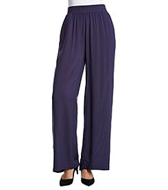Penelope Rose Challis Wide Leg Pants