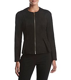 Ivanka Trump® Faux Suede Jacket