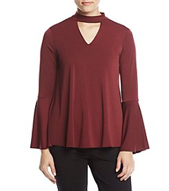 Chelsea & Theodore Bell Sleeve Top