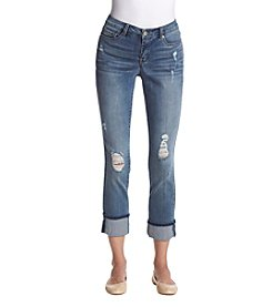 Nine West Taylor Rail Cuff Jeans