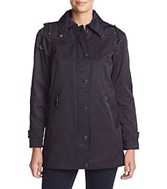 Calvin Klein A-Line Hooded Rain Jacket