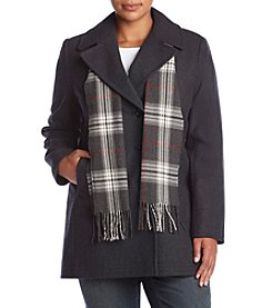 Forecaster Double Notch Collar Scarf Jacket