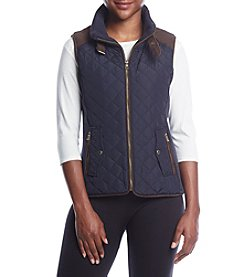 Gallery Petites' Quilted Vest