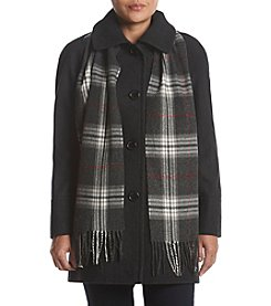 Forecaster Petites' A-Line Scarf Coat