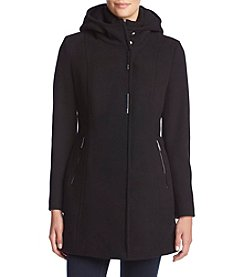 Calvin Klein Hooded Wool Jacket