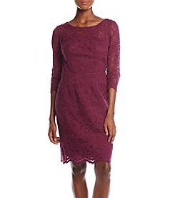 Nicole Miller New York Open Back Lace Dress