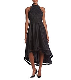 Nicole Miller New York Lace High Low Dress