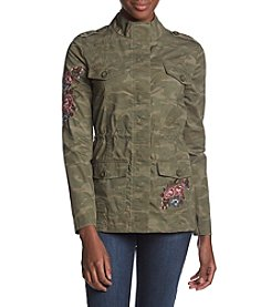 Ruff Hewn Embroidered Military Jacket