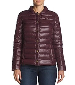 Via Spiga® Snap-Front Packable Jacket