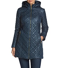 Via Spiga® Hooded Quilt Jacket