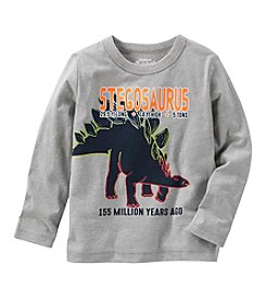 Oshkosh b' Gosh® Boys' 2T-5T Long Sleeve Dino Shirt