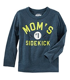 Oshkosh b' Gosh® Boys' 2T-5T Long Sleeve Glow in the Dark Mom's Sidekick Shirt