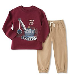 Kids Headquarters Boys' 2T-7 Long Sleeve Tough Guy Top with Pants Set