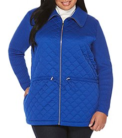 Rafaella Plus Size Quilted Jacket