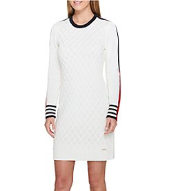 Tommy Hilfiger Textured Sweater Dress