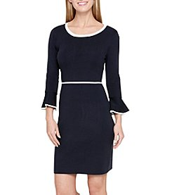 Tommy Hilfiger Bell Sleeve Sweater Dress