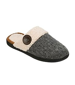 Dearfoams Textured Knit Clogs