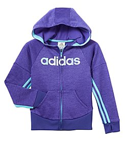 adidas Girls' 2T-6X Go The Distance Jacket