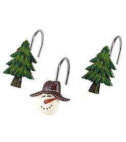 Avanti® Snowmen Gathering Shower Hooks