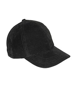 Nine West® Faux Suede Baseball Cap