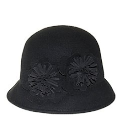 Nine West Felt Flower Cloche