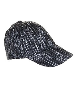 Nine West® Herringbone Boucle Baseball Cap