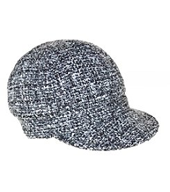 Nine West® Lurex Boucle Newsboy Cap