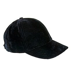 Nine West® Velvet Baseball Hat