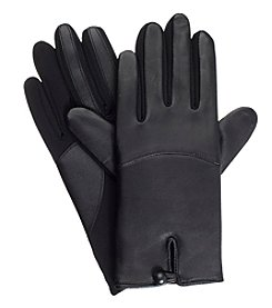Isotoner Signature® Women's Leather Button Gloves