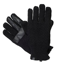 Isotoner Signature® Women's Never Wet Solid Textured Gloves