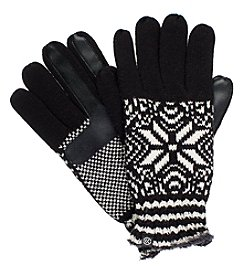 Isotoner Signature® Women's Neverwet Snowflake Print Gloves