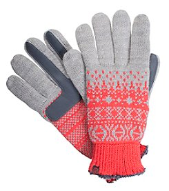 Isotoner Signature® Women's Neverwet Fairisle Print Gloves