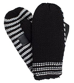 Isotoner Signature® Women's Neverwet Chunky Striped Mittens