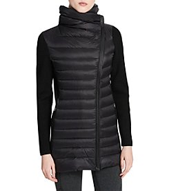 Calvin Klein Performance Down Asymmetrical Performance Jacket