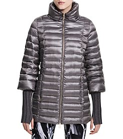 Calvin Klein Performance Mid Length Down Swing Coat