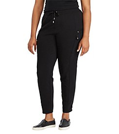 Lauren Ralph Lauren® Plus Size French Terry Cargo Pant