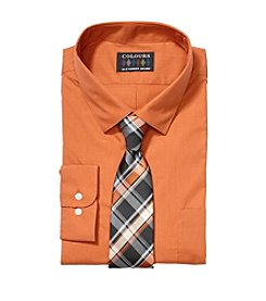 Alexander Julian Men's Big & Tall Button Down Dress Shirt