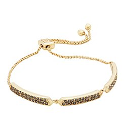Vera Bradley® Goldtone Whisper Links Slider Bracelet