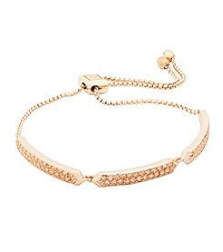 Vera Bradley® Rose Goldtone Whisper Links Slider Bracelet