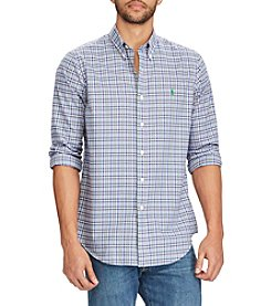 Polo Ralph Lauren® Men's Plaid Long Sleeve Button Down