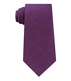 Calvin Klein Men's Basket Weave Solid Tie