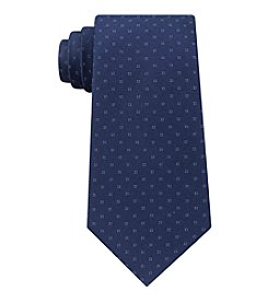 Calvin Klein Men's Micro Four-Square Tie
