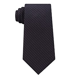 Calvin Klein Men's Bronze Grid Tie